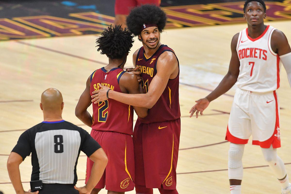 Allen in azione con i Cavaliers