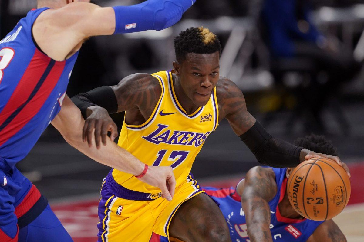 Schroder conduce l'azione con i Lakers