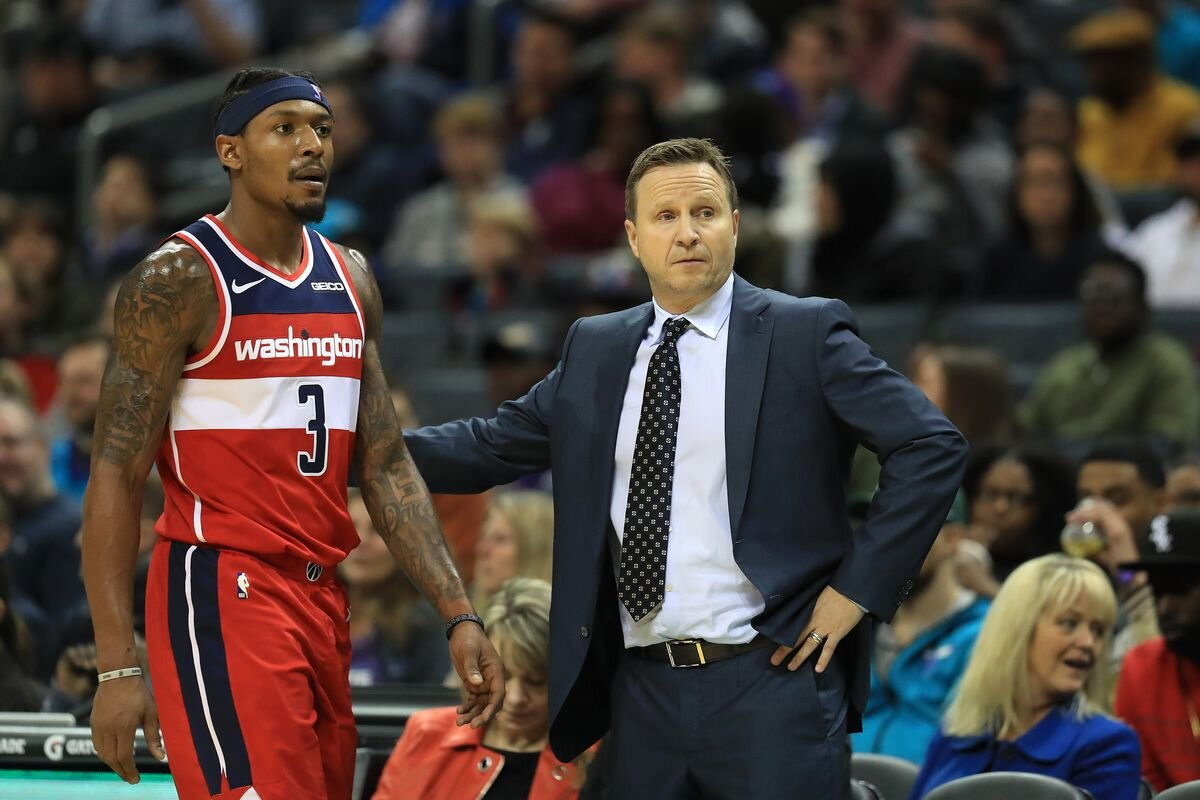 Brooks sulla panchina degli Wizards