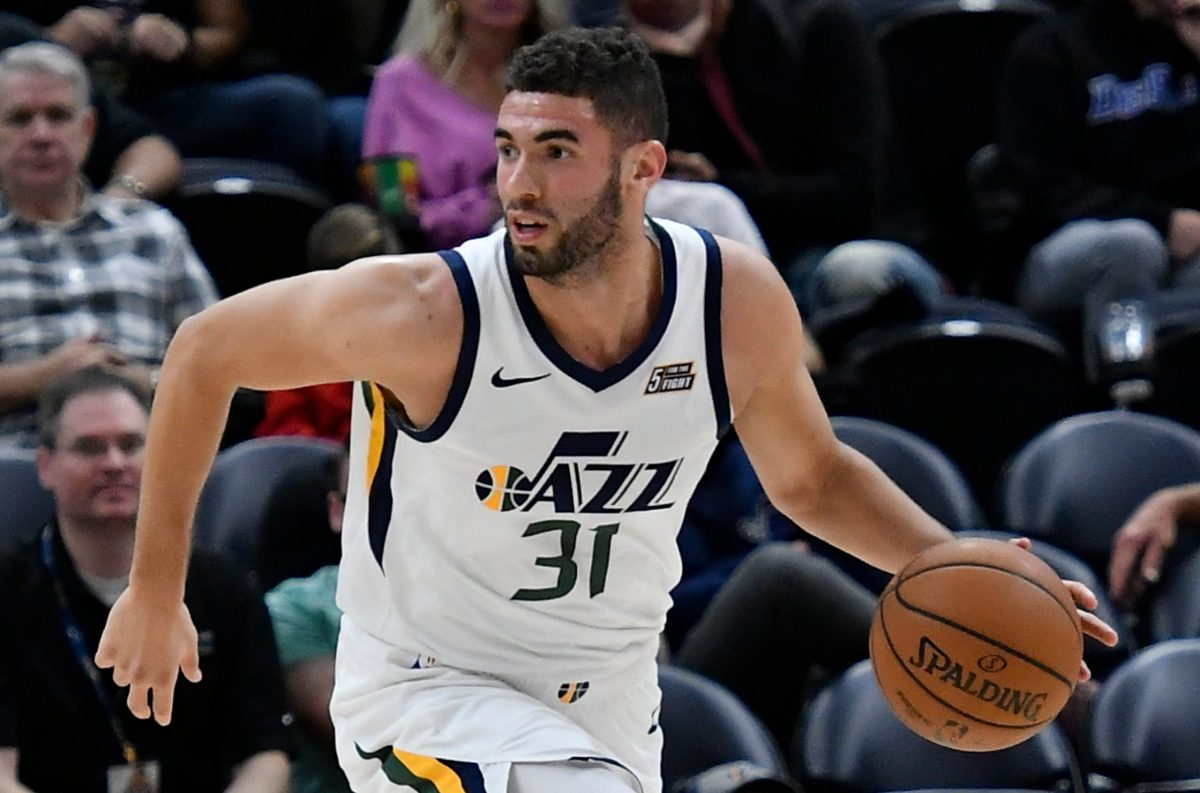 Georges Niang in maglia Jazz