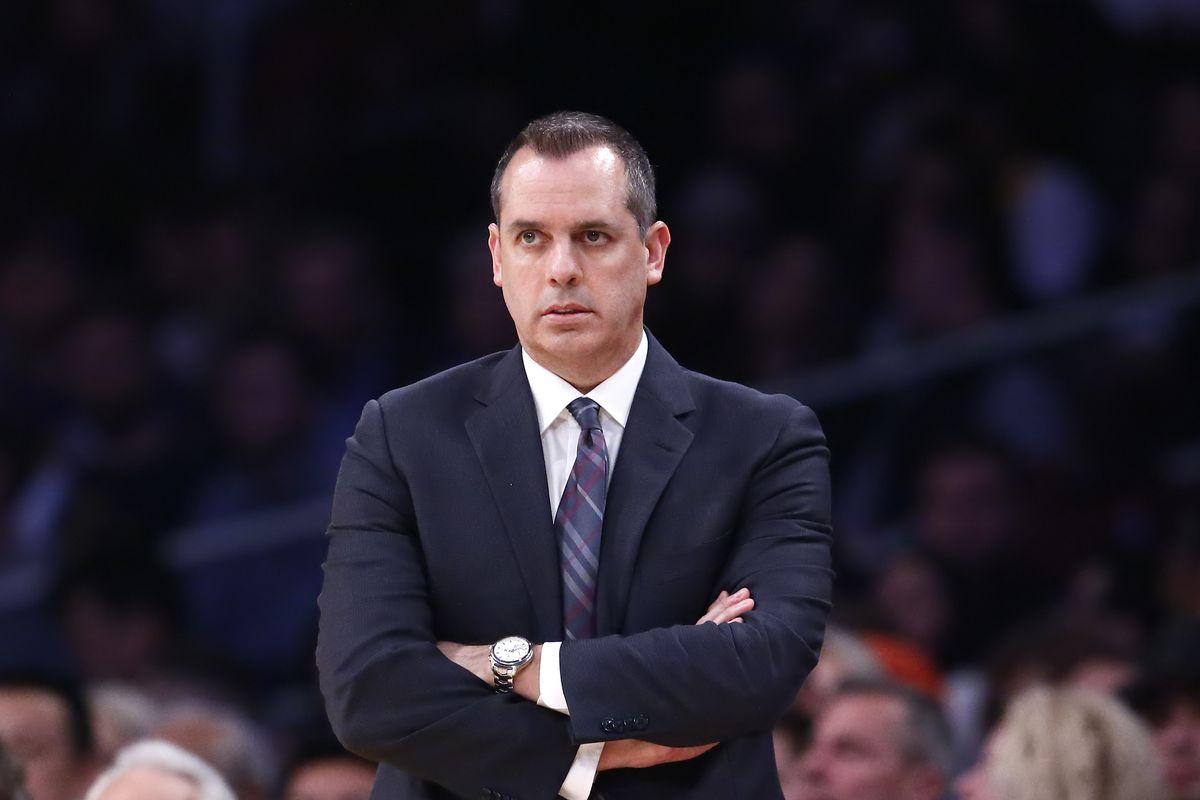 Coach Frank Vogel