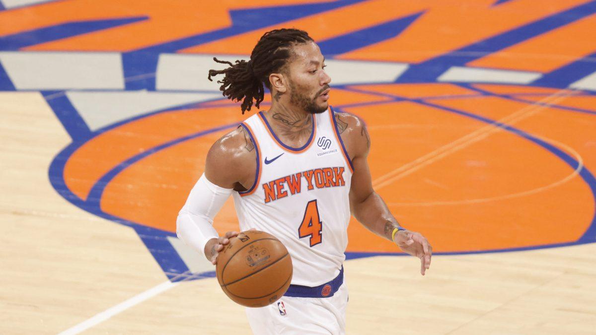 Rose conduce l'azione per i Knicks