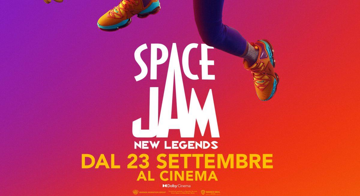 La locandina di Space Jam: New Legends