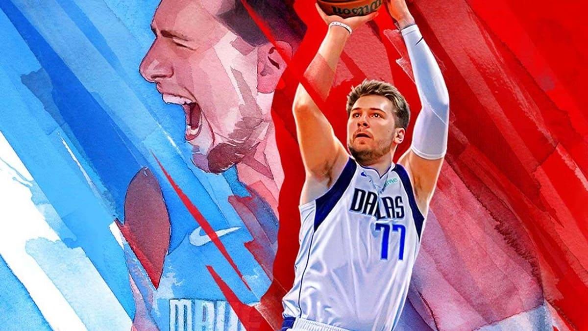 Luca Doncic su NBA2K22