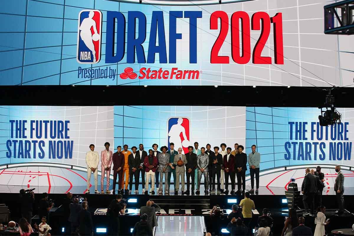 Le scelte sul palco dell'NBA Draft 2021