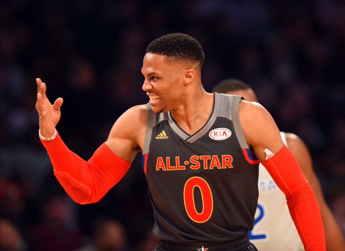 Russell Westbrook durante l'All Star Game