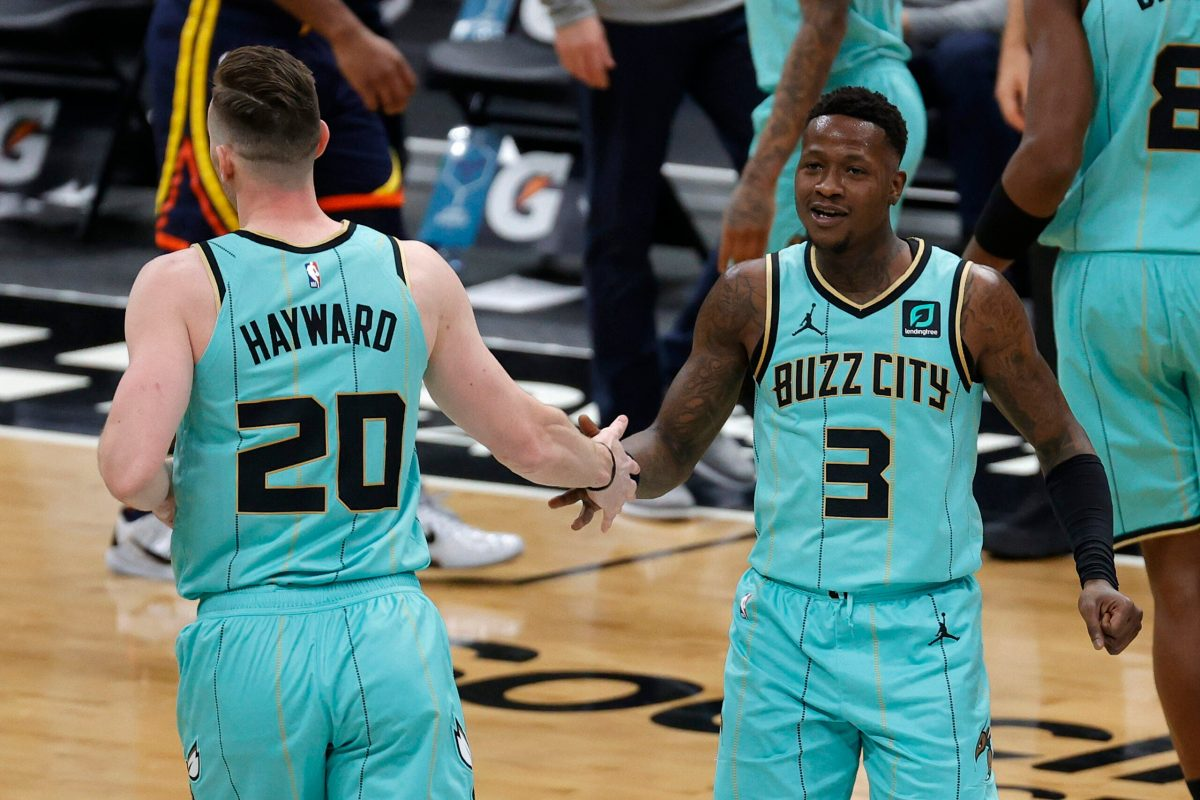 Hayward Rozier in maglia Hornets