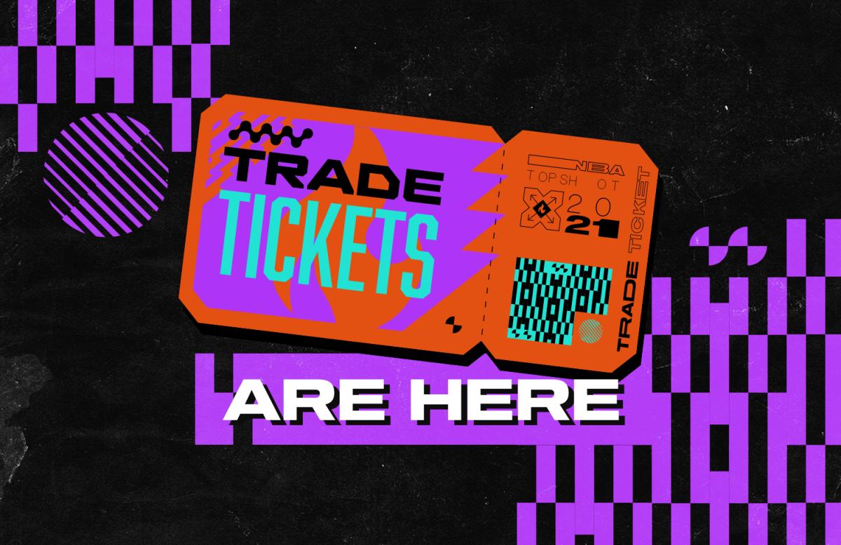 Trade Tickets NBA Top Shot