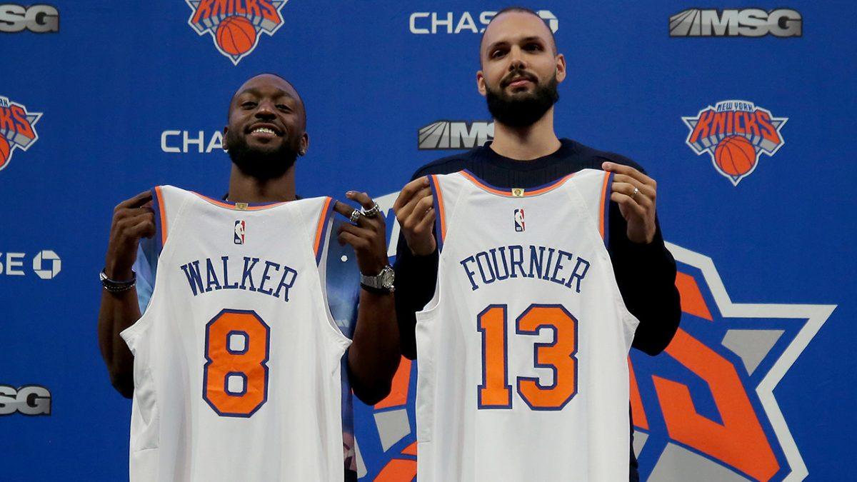 Annuncio di Kemba Walker e Evan Fournier ai Knicks