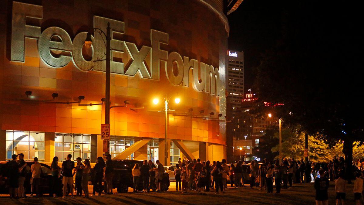 Il FedEx Forum di Memphis