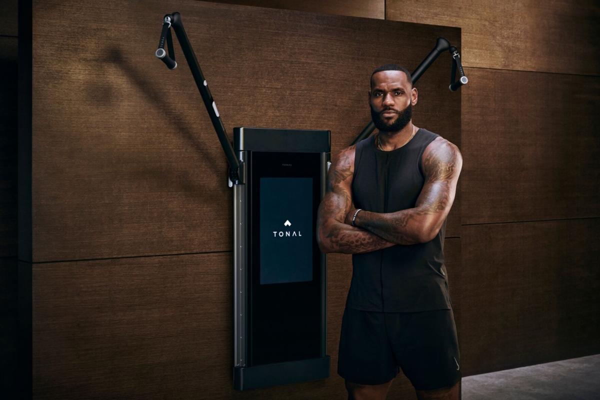 LeBron James sponsor Tonal