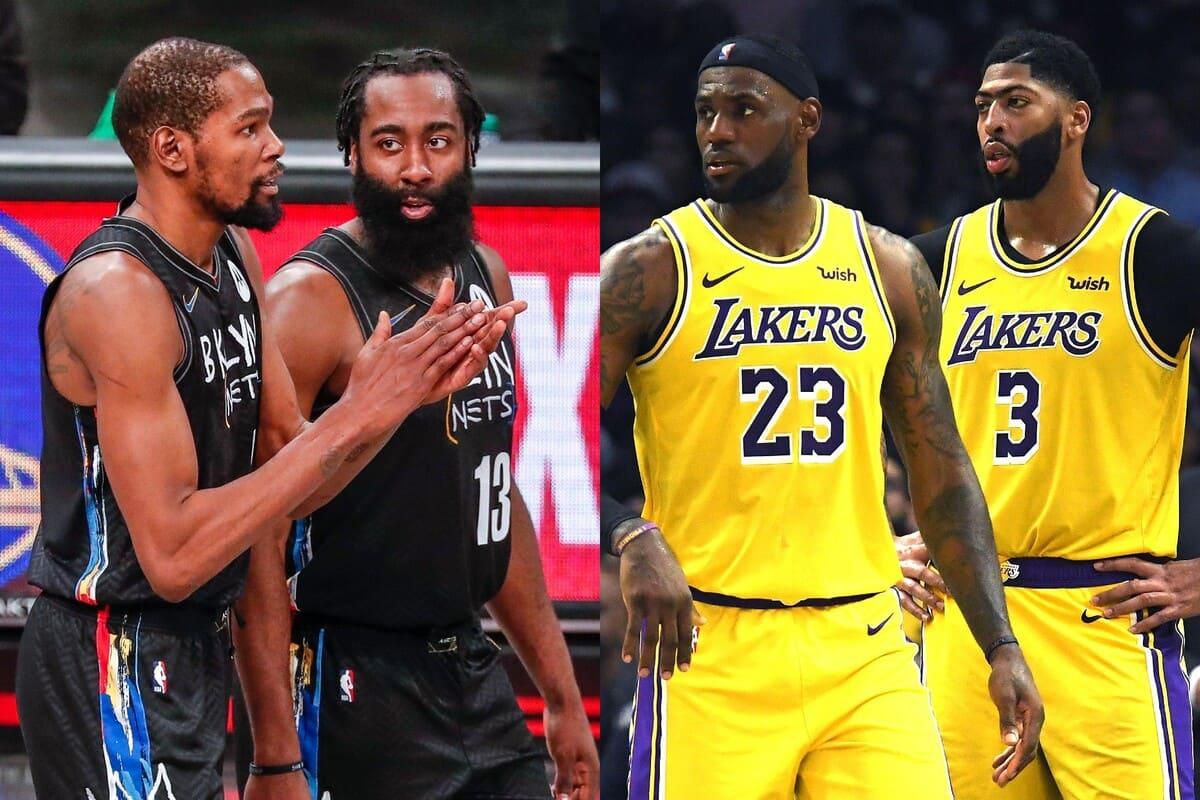 Lakers e Nets a confronto