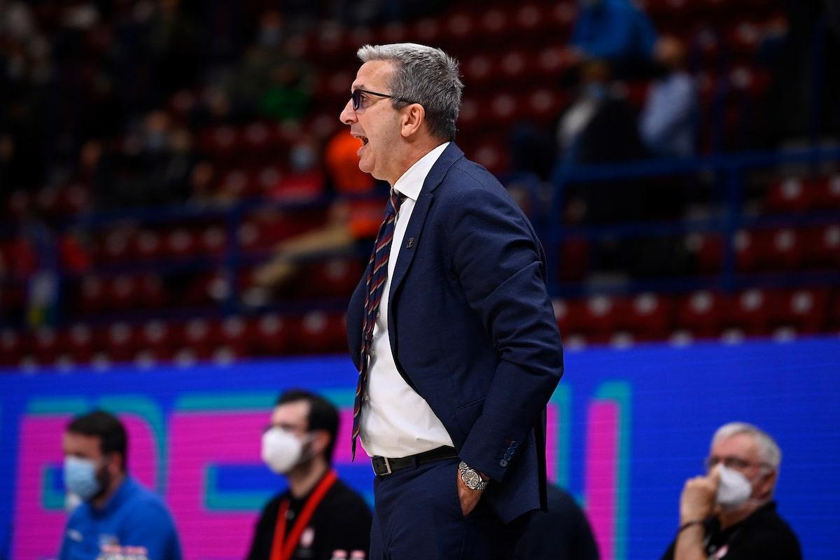 Walter De Raffaele coach Umana Reyer Venezia